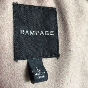 Rampage Jackets & Coats - New Rampage sand Pebbled pea coat size Large